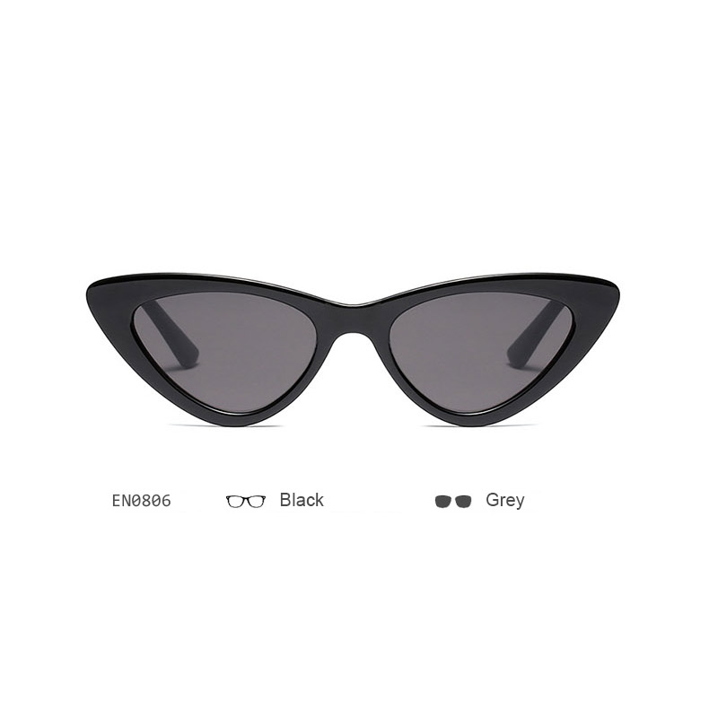 e80ecc58123e Women Small Cat Eye Sunglasses Red Frame Women Brand Designer Ladies Sun  glasses Vintage Sexy ...